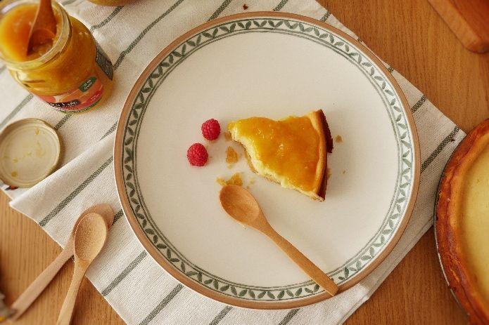 ración de tarta de queso