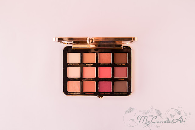 Paleta de sombras Just Peachy Mattes de Too Faced opinion review swatches
