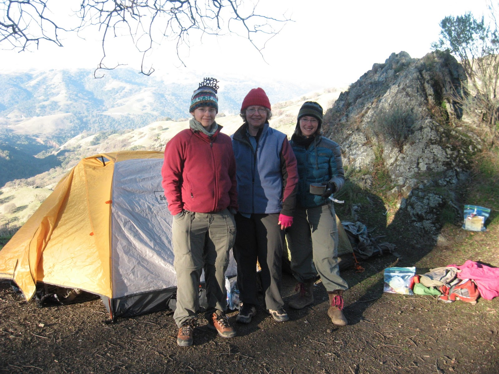 Backpacking story