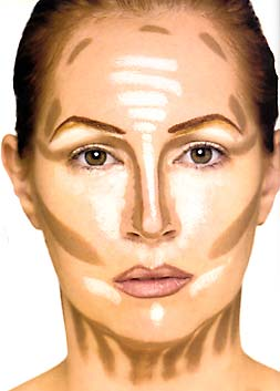 lora makeup comment se maquiller avec un visage rond. Black Bedroom Furniture Sets. Home Design Ideas