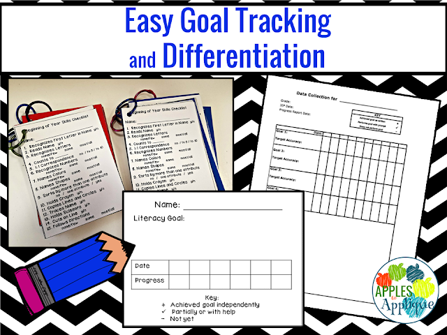 Easy Goal Tracking and Differentiation | Apples to Applique