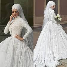 Desain Baju Gaun Pengantin Muslimah Terindah Terbaru