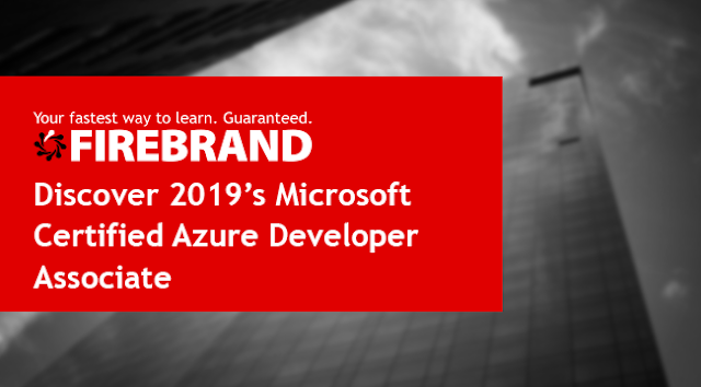 Discover 2019's Microsoft Certified Azure Developer Associate