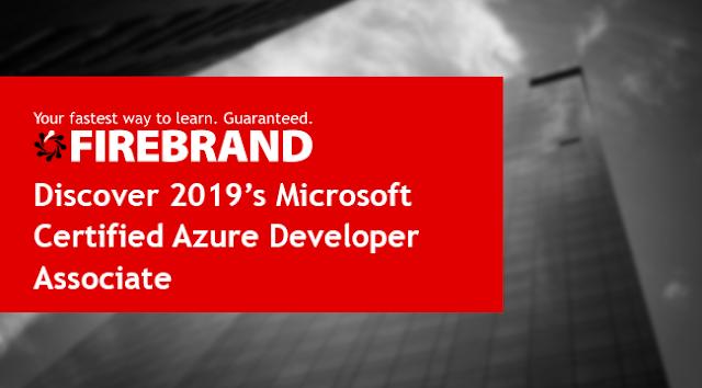 Discover 2019's Microsoft Certified Azure Developer Associate