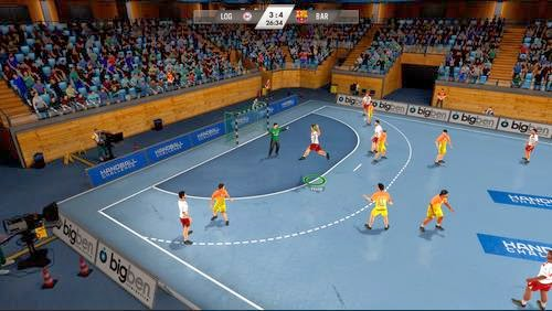 Gameplay IHF Handball Challenge 14