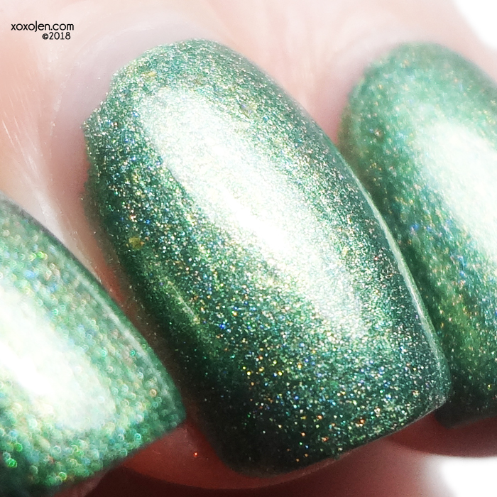 xoxoJen's swatch of Turtle Tootsie 4 Leaf Clover
