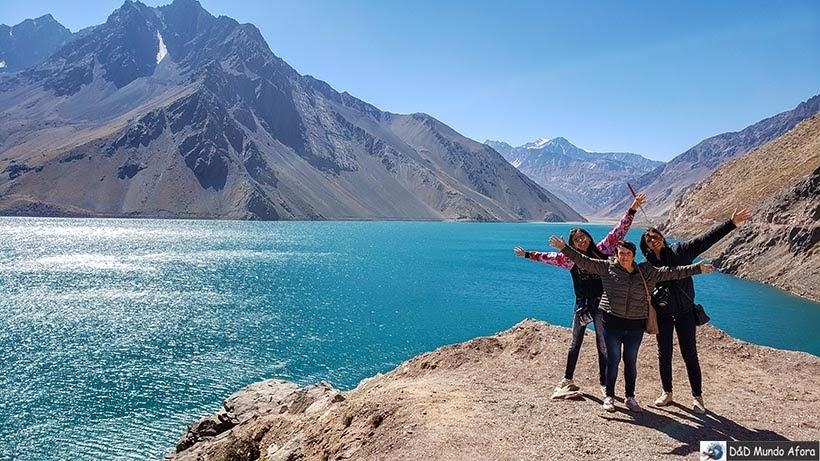 Embalse el Yeso - Diário de Bordo Chile: 8 dias em Santiago e arredores