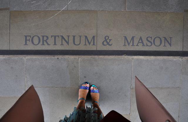 Fortnum & Mason Afternoon Tea and Alice at Wonderland