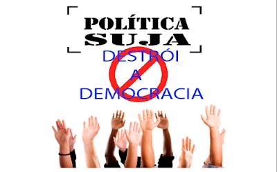Velha política, velhas táticas: a sociedade não aceita política rasteira