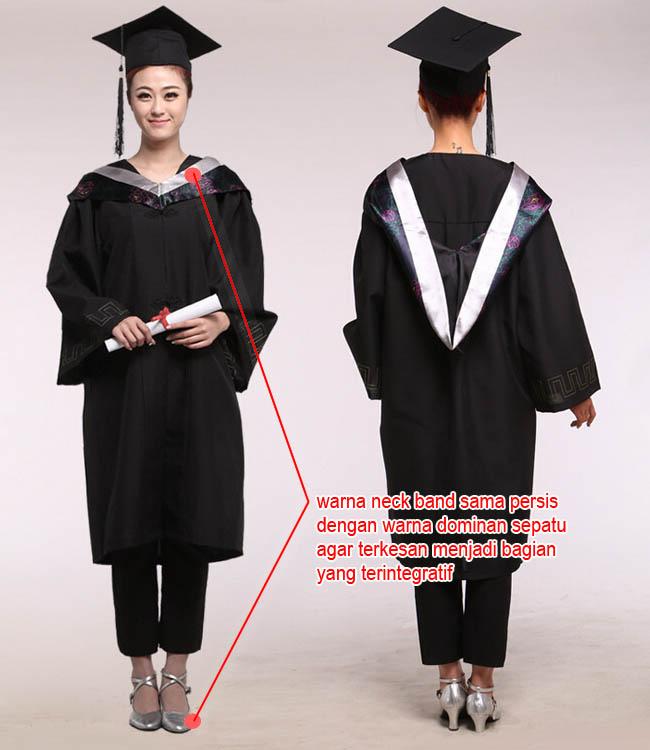 Model wedges low heels untuk dipakai saat wisuda
