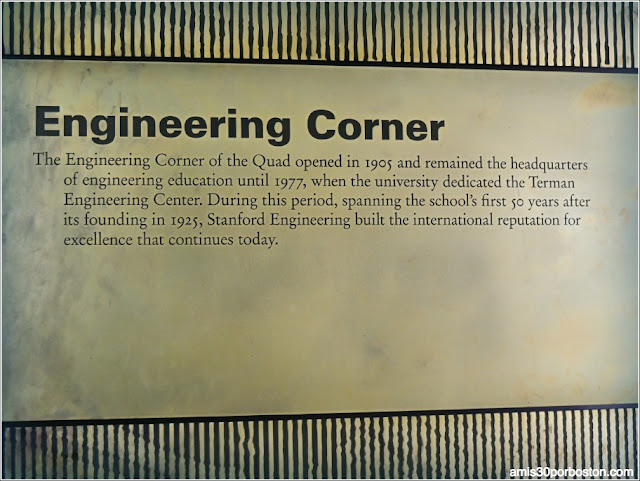Engineering Corner, Universidad de Stanford