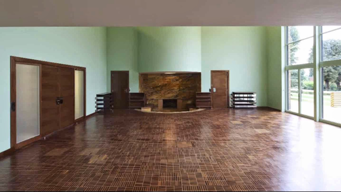 le blog des amis de la villa cavrois le salon. Black Bedroom Furniture Sets. Home Design Ideas