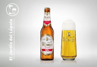 Bitburger Drive 0,0, una cerveza sin alcohol.