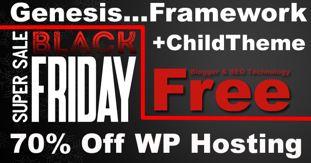 black friday 2017 deal for hosting domain name and wordpress themes