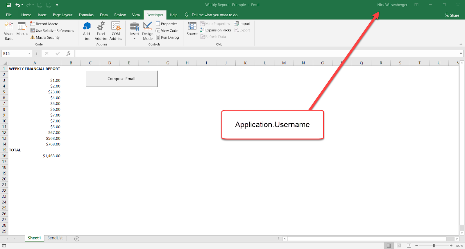 Excel Spreadsheets Help How To Send Email From Excel With Link Back To Workbook
