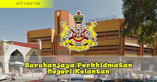 Jawatan Kosong di Suruhanjaya Perkhidmatan Negeri Kelantan - 5 Februari 2019