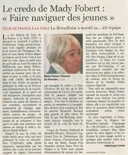Interview Mady Fobert Bel-Yachting