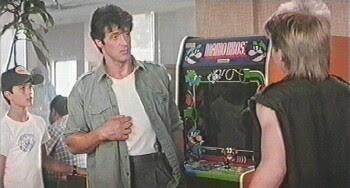 Videojues película Yo el halcón - 1987