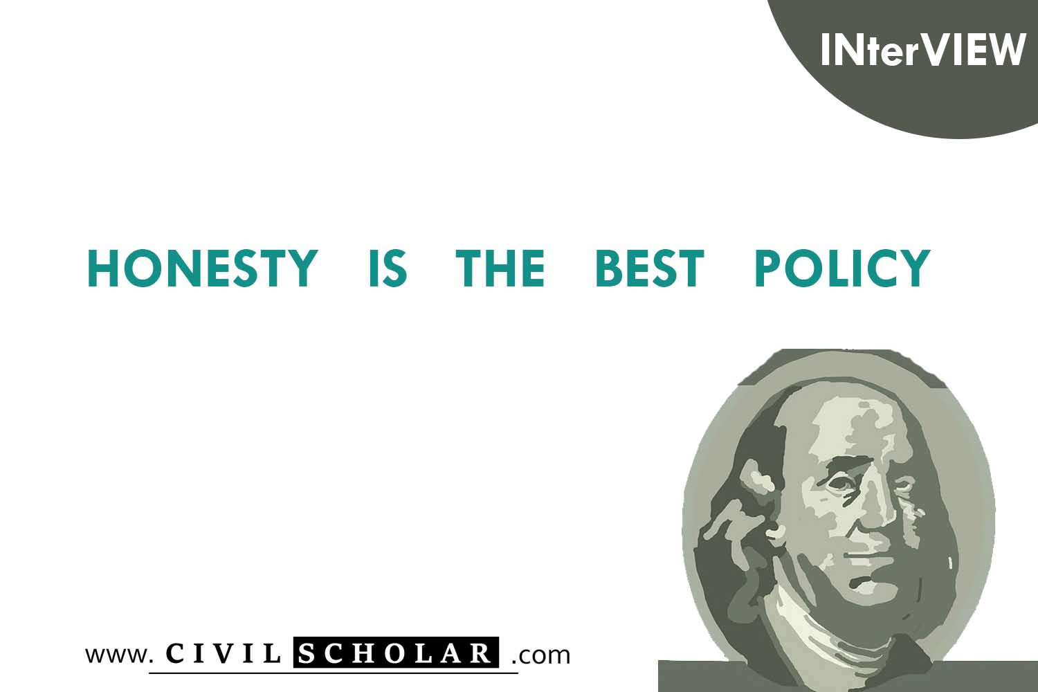 honesty is the best policy What's the origin of the phrase 'honesty is the best policy' this proverb is first found in the writings of sir edwin sandys, the english politician and colonial entrepreneur, who was prominent in the virginia company which founded the first english settlement in america, at jamestown, virginia.