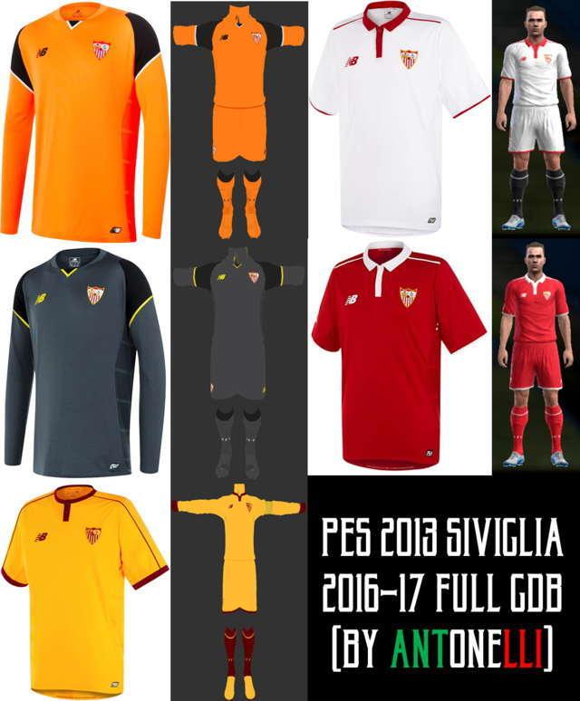 6c9372c879a Yükle (1840x1400)PES 2017 Sevilla Full Kit Pack by Hawj mk - PES PatchPES  2017 Sevilla Fútbol Club Full Kits Pack by Hawj mk.