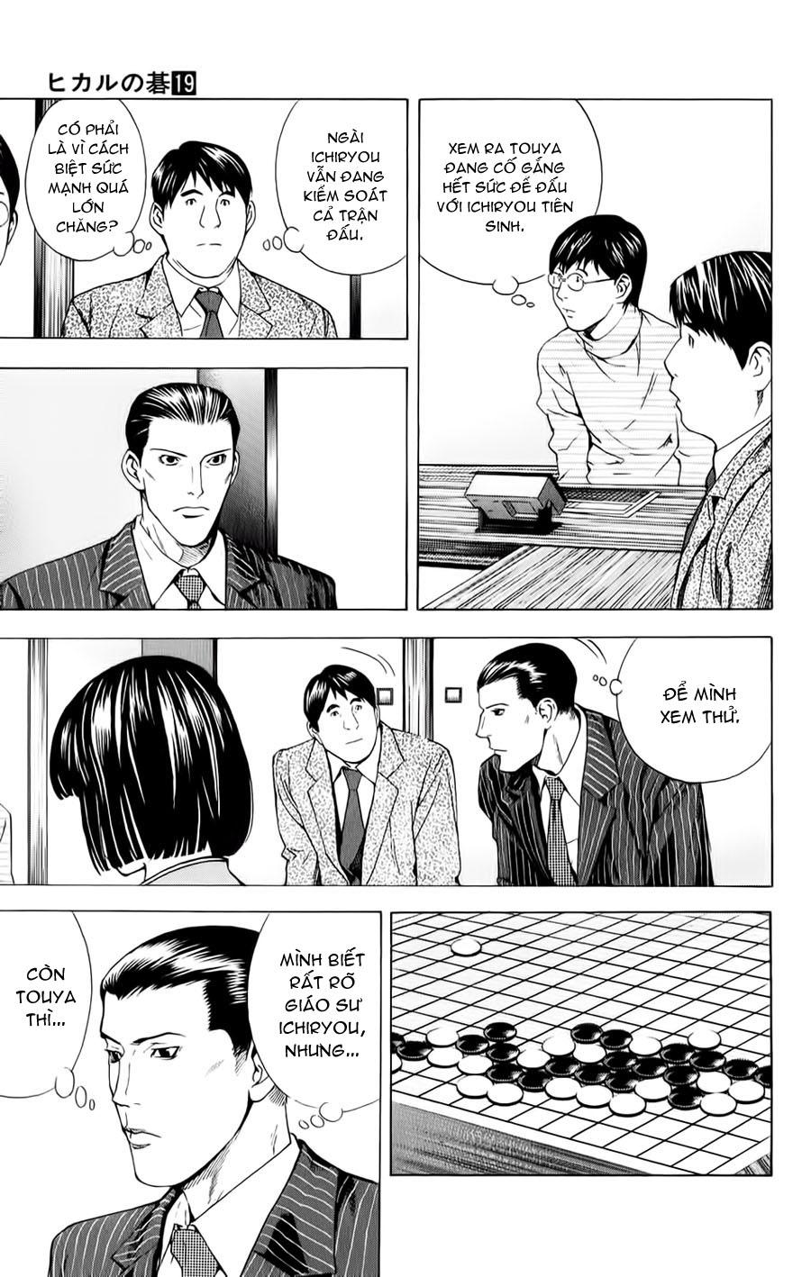 Hikaru No Go hikaru no go chap 150 trang 2