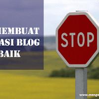 Tips Membuat Navigasi Blog yang baik
