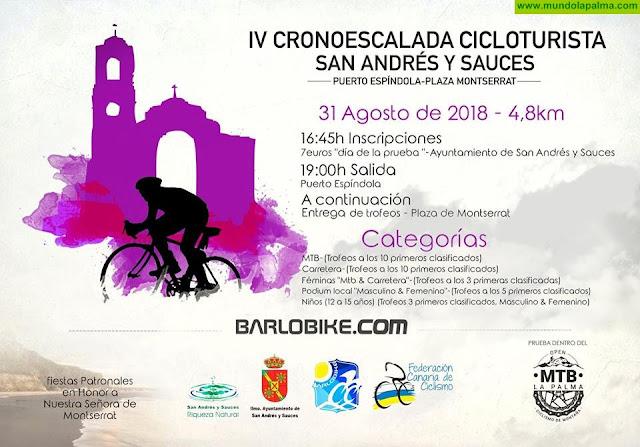 IV Cronoescalada Cicloturista San Andrés y Sauces