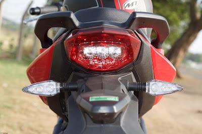 Benelli TNT 300 taillight image
