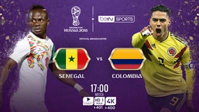 موعد عرض مباراة انجلترا وكولمبيا  بتاريخ 03-07-2018 كأس العالم 2018 والقنوات الناقلة لها