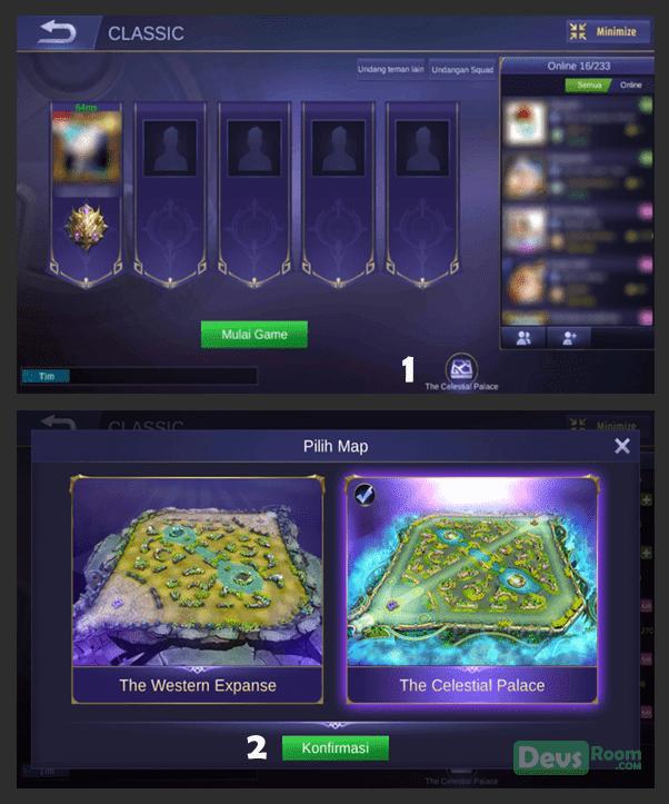 Cara Bermain Map Baru Mobile Legends: Bang Bang