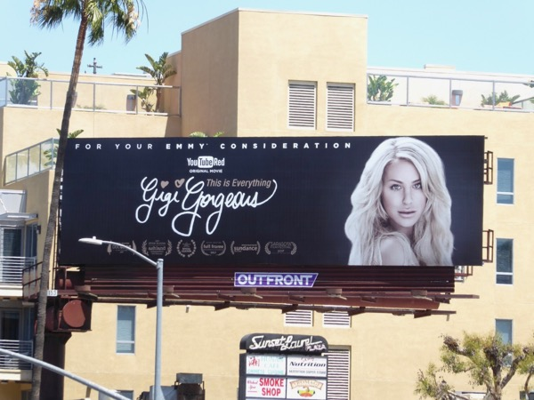 Gigi Gorgeous This is Everything Emmy billboard
