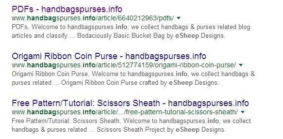 handbagspurses.info stealing my blog content