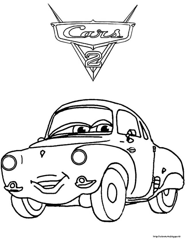 Pin Colorare-cars-2-carla-veloso-disegni-da on Pinterest