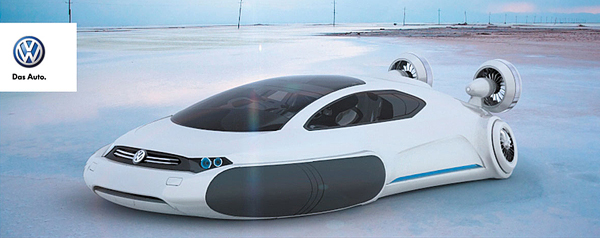 Futuristic Volkswagen Concept Car Aqua Spicytec