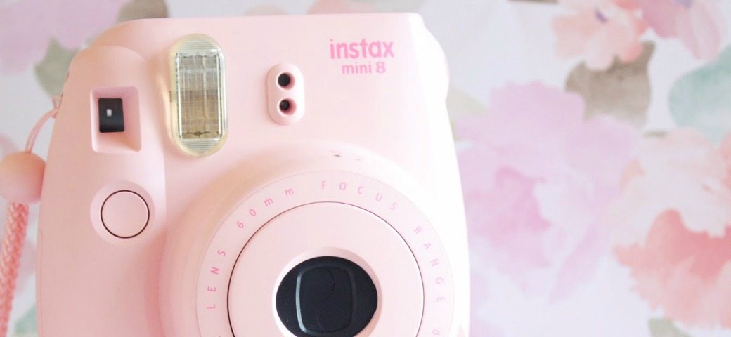 LIFESTYLE // Instax mini 8 instant camera