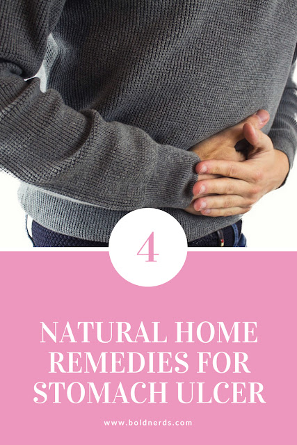 4 Natural Home Remedies for Stomach Ulcer