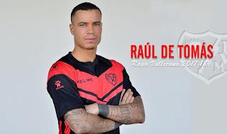 Raúl De Tomás llega al Rayo Vallecano