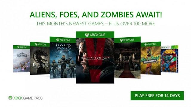 قائمة الألعاب القادمة لمشتركي خدمة Xbox Game Pass في شهر نوفمبر 2017