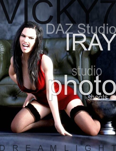 Victoria 7 Daz Studio Iray Studio Photo Shoots