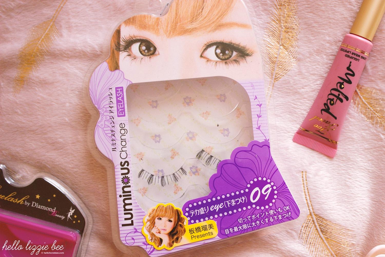 luminous change lower lashes