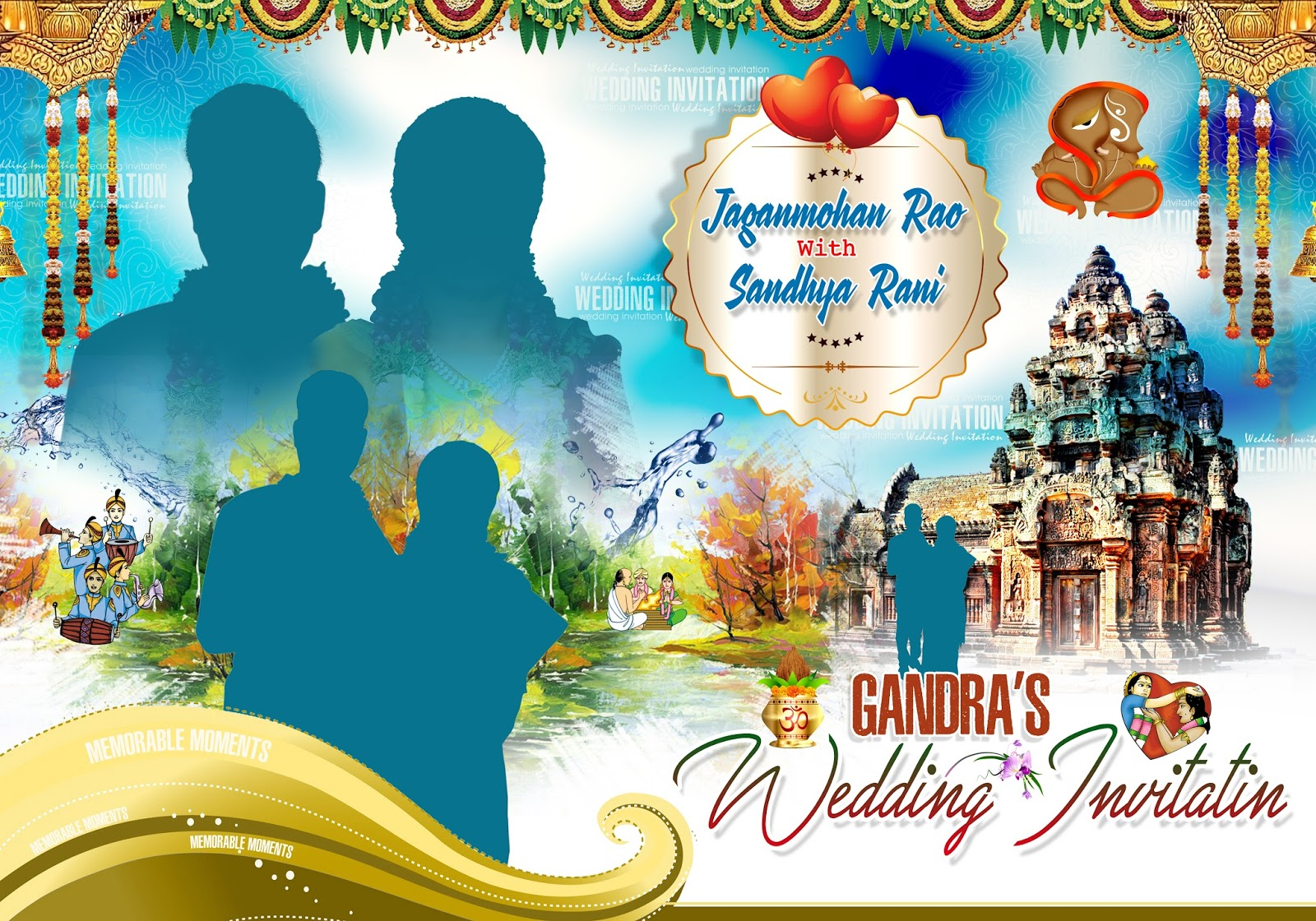 indian wedding banners psd template free downloads - gfx all free