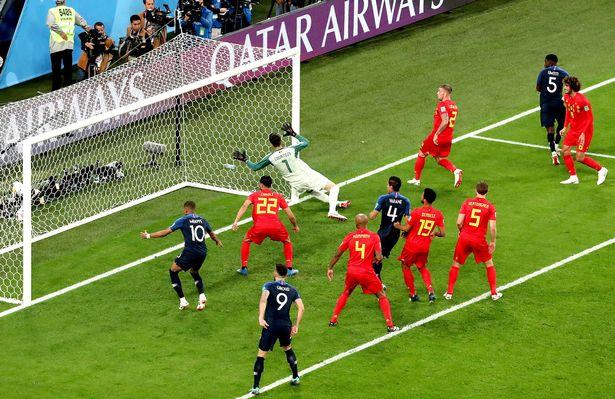 اهداف مباراة فرنسا وبلجيكا هدف اومتيتى Belgium-vs-France