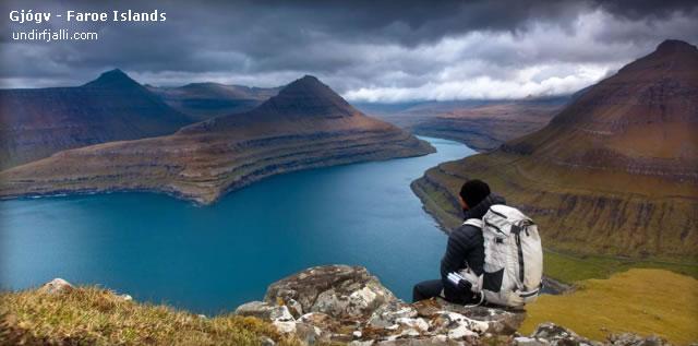 Gjógv ( Gjáargarður ) - Ilha Eysturoy, Ilhas Faroé