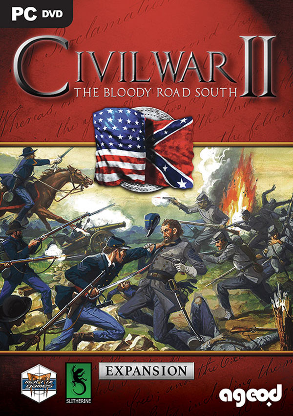 Civil War II The Bloody Road South Download Cover Free Game