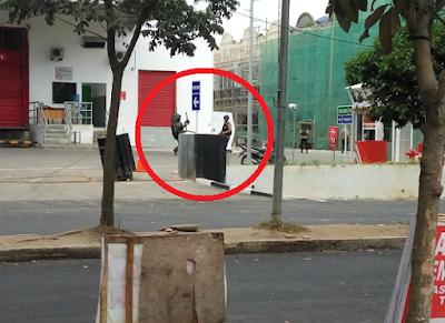 Polisi Amankan Bungkusan Mencurigakan di Transmart