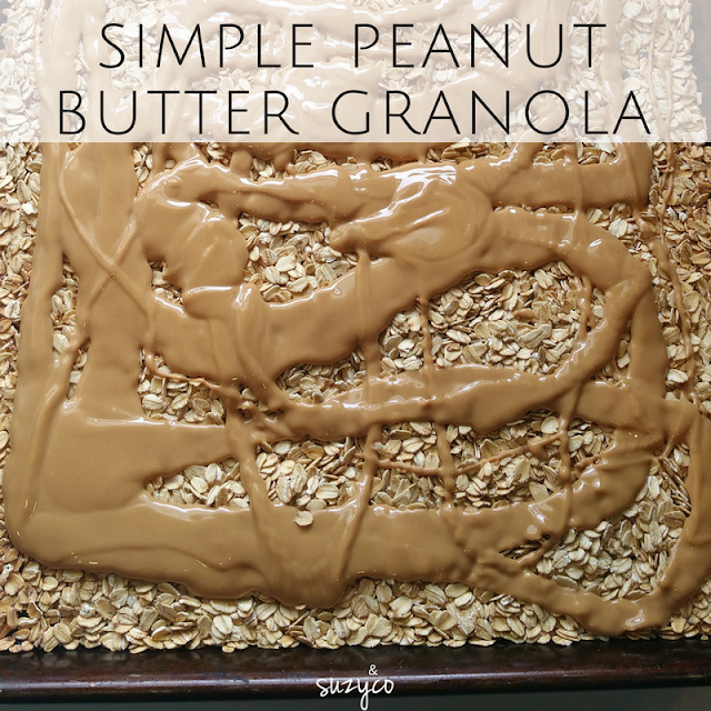 simple peanut butter granola