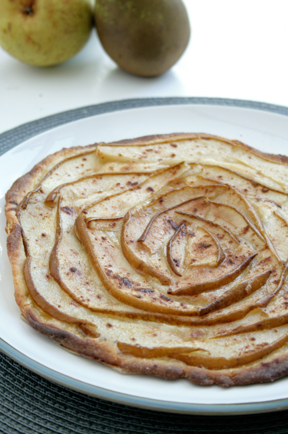 Pear Tart | www.bakeandthecity.co.uk