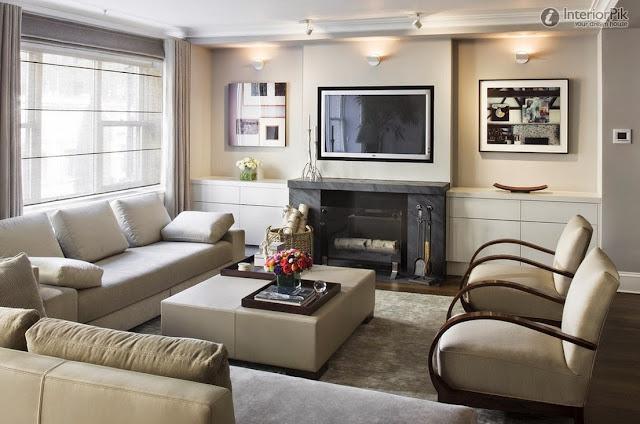 Le Home Familial Foyer Unme : Salon avec cheminée