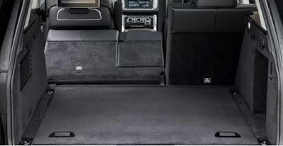 Coffre du Land Range Rover Sport sans sièges