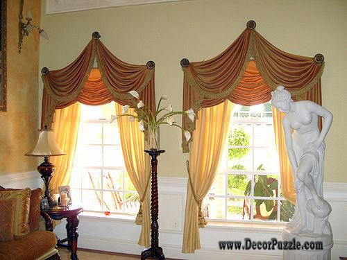 Stylish Luxury Classic Curtains And Drapes 2018, Curtains Designs For  Living Room